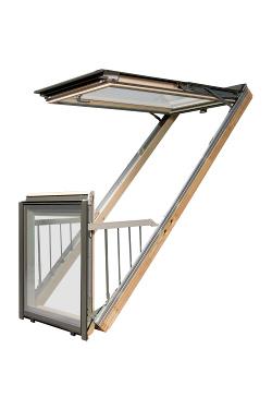 Окно-балкон FAKRO FGH-V P2 Galeria в Саратове - купить Окно-балкон FAKRO FGH-V P2 Galeria в Саратове прайс-лист цена 2019