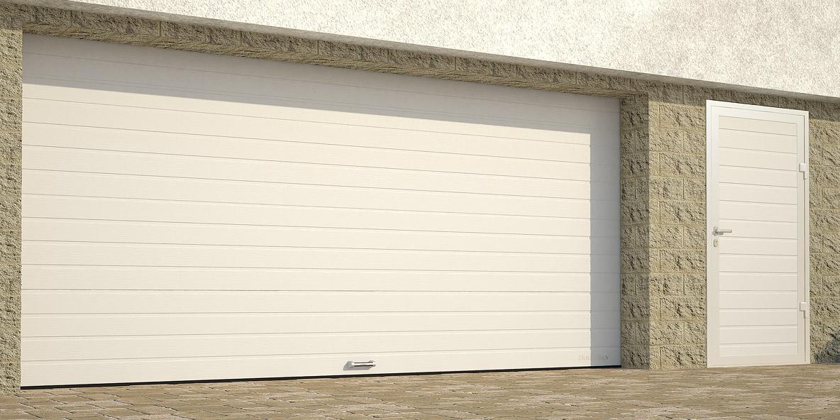Гаражные секционные ворота DoorHan с пружинами растяжения в Саратове - купить Гаражные секционные ворота DoorHan с пружинами растяжения в Саратове прайс-лист цена 2021