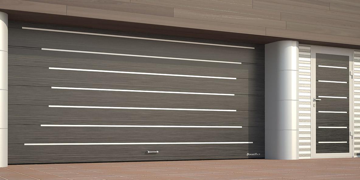 Гаражные секционные ворота DoorHan с торсионным механизом в Саратове - купить Гаражные секционные ворота DoorHan с торсионным механизом в Саратове прайс-лист цена 2019