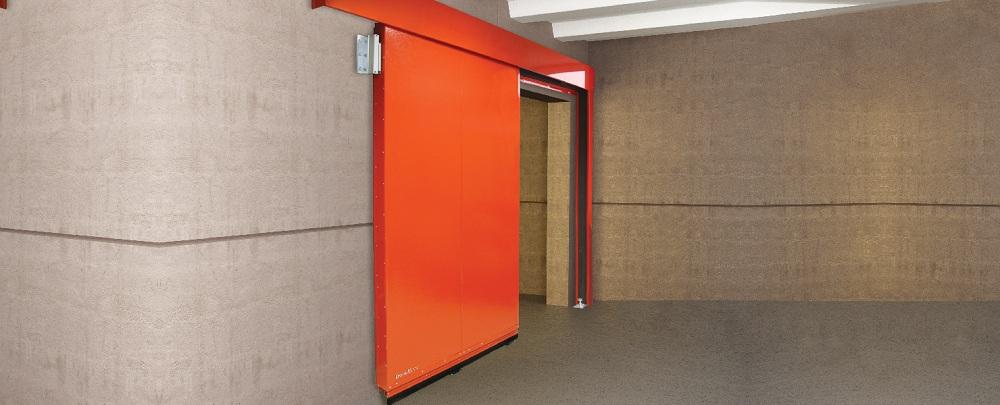 Промышленные противопожарные сдвижные ворота DoorHan в Саратове - купить Промышленные противопожарные сдвижные ворота DoorHan в Саратове прайс-лист цена 2021