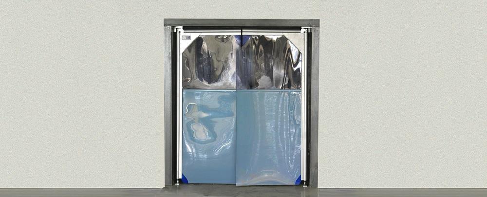 Промышленные гибкие распашные пленочные ПВХ-ворота DoorHan в Саратове - купить Промышленные гибкие распашные пленочные ПВХ-ворота DoorHan в Саратове прайс-лист цена 2021