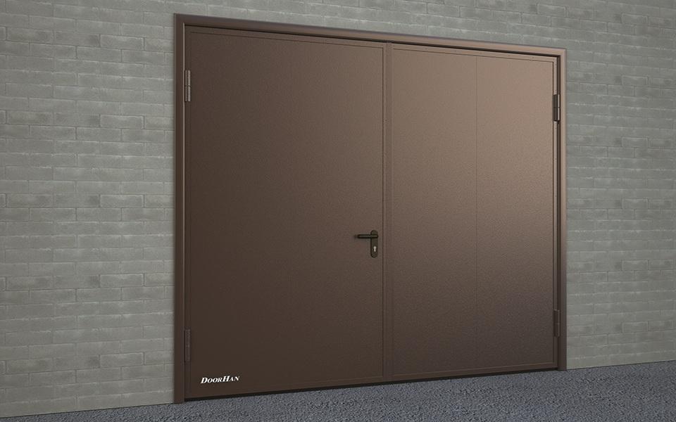 Промышленные распашные ворота DoorHan в Саратове - купить Промышленные распашные ворота DoorHan в Саратове прайс-лист цена 2019