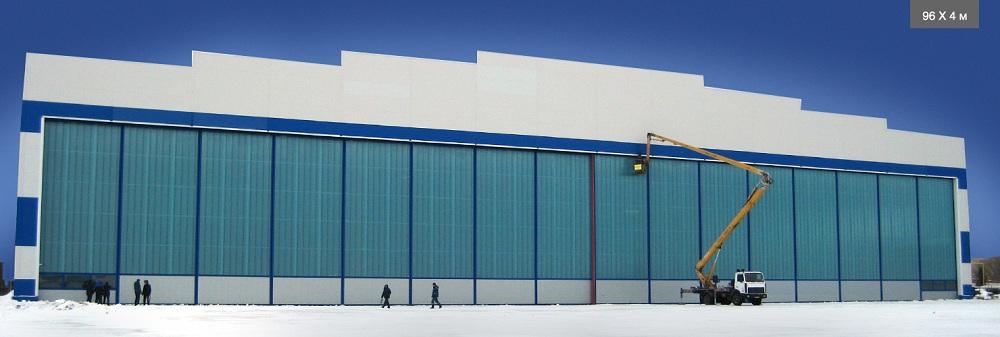 Ангарные ворота Doorhan в Саратове - купить Ангарные ворота Doorhan в Саратове прайс-лист цена 2021