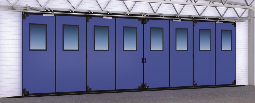 Складные ворота Doorhan с нижней направляющей в Саратове - купить Складные ворота Doorhan с нижней направляющей в Саратове прайс-лист цена 2021