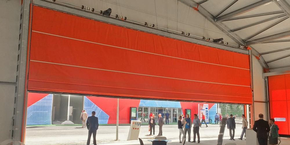 ПВХ-ворота Doorhan шторного типа в Саратове - купить ПВХ-ворота Doorhan шторного типа в Саратове прайс-лист цена 2020