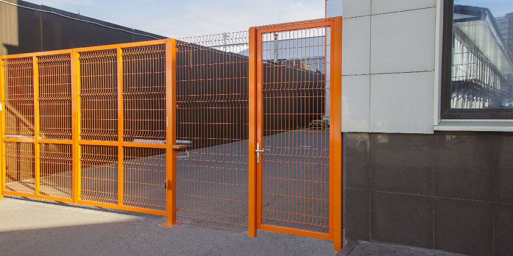 Фирменная калитка DoorHan в Саратове - купить Фирменная калитка DoorHan в Саратове прайс-лист цена 2021