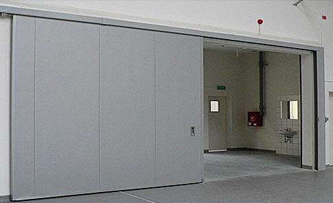 Промышленные противопожарные сдвижные ворота Alutech Fire Marc-P в Саратове - купить Промышленные противопожарные сдвижные ворота Alutech Fire Marc-P в Саратове прайс-лист цена 2020