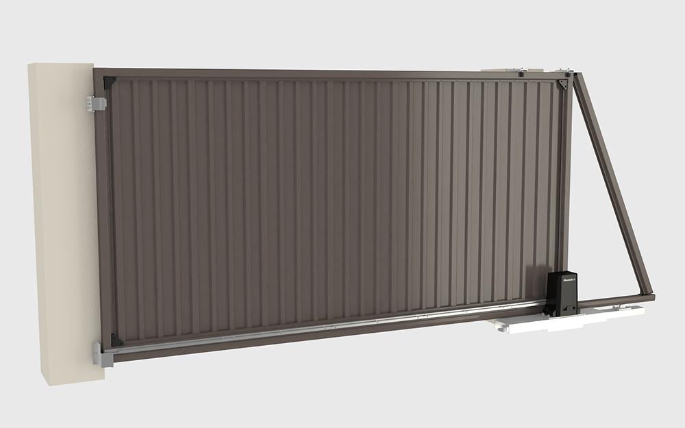Уличные сдвижные ворота  DoorHan REVOLUTION в Саратове - купить Уличные сдвижные ворота  DoorHan REVOLUTION в Саратове прайс-лист цена 2019