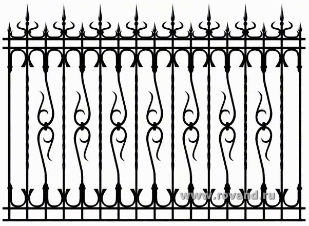 Металлический сварной и кованный забор любых размеров в Саратове - купить Металлический сварной и кованный забор любых размеров в Саратове прайс-лист цена 2019