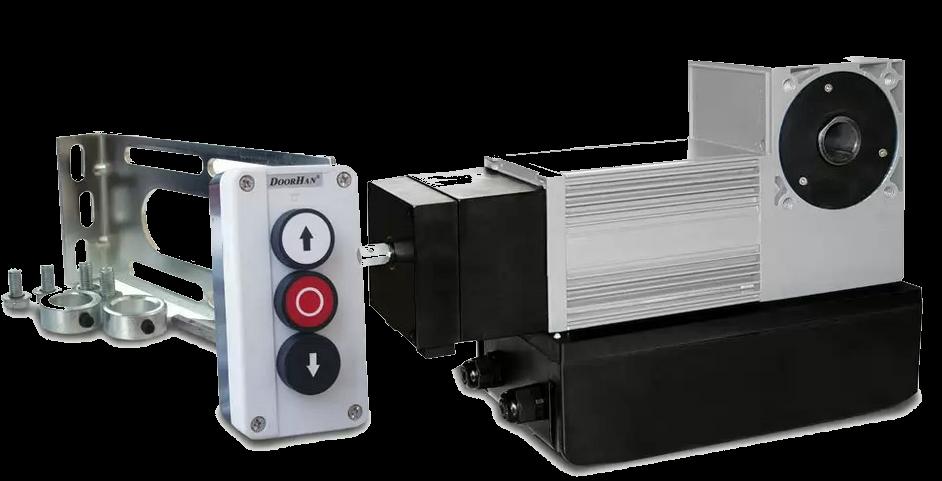 Привод для промышленных секционных ворот DoorHan SHAFT-50 в Саратове - купить Привод для промышленных секционных ворот DoorHan SHAFT-50 в Саратове прайс-лист цена 2019