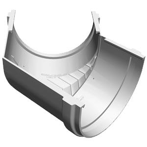 Элемент угловой 135° Docke STANDARD в Саратове - купить Элемент угловой 135° Docke STANDARD в Саратове прайс-лист цена 2019