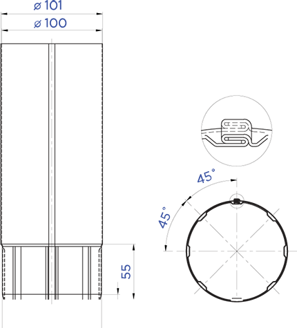 ТРУБА D100 в Саратове - купить ТРУБА D100 в Саратове прайс-лист цена 2021
