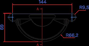 ЗАГЛУШКА  ЖЕЛОБА D125 в Саратове - купить ЗАГЛУШКА  ЖЕЛОБА D125 в Саратове прайс-лист цена 2020